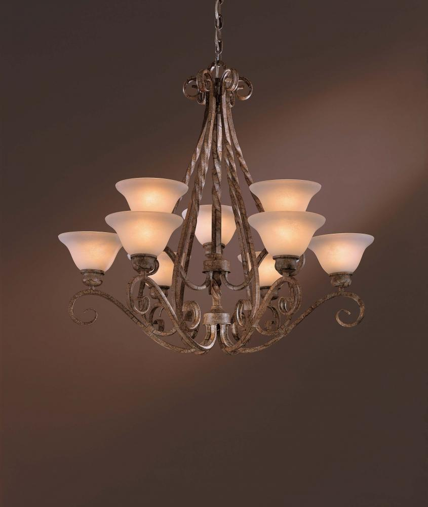 9 Light Chandelier & 9 Light Chandelier : 1146-32 | Fan and Lighting World of Boynton Beach