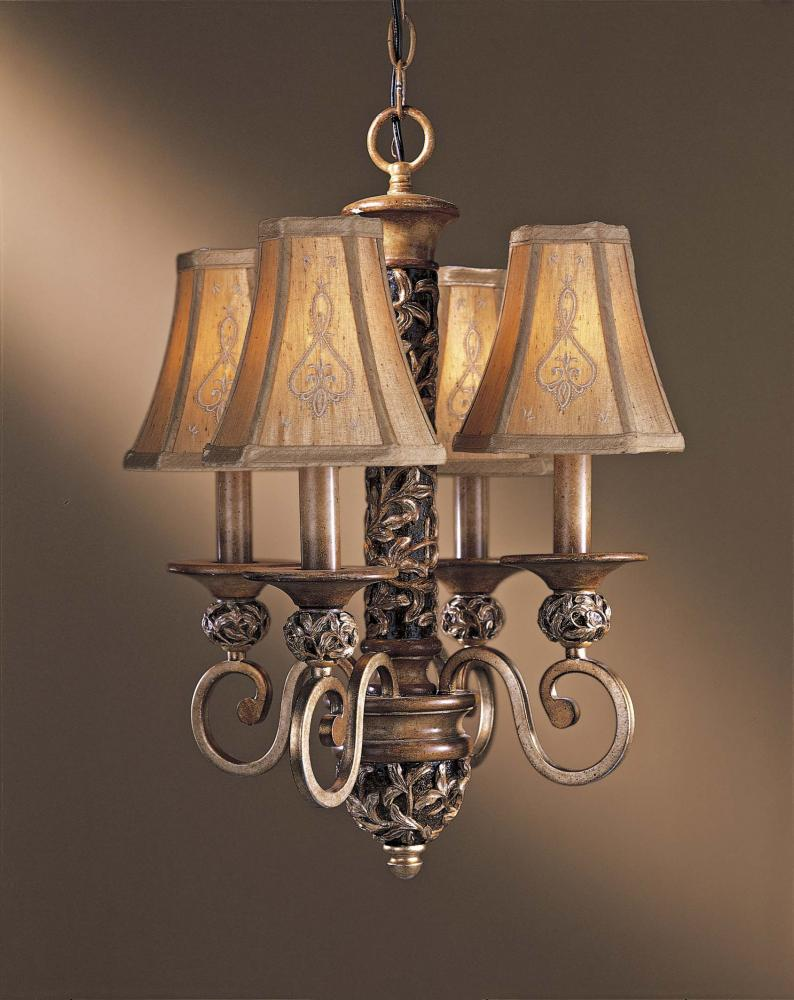 Four light bronze up chandelier 1554 477 fan and lighting world four light bronze up chandelier arubaitofo Image collections