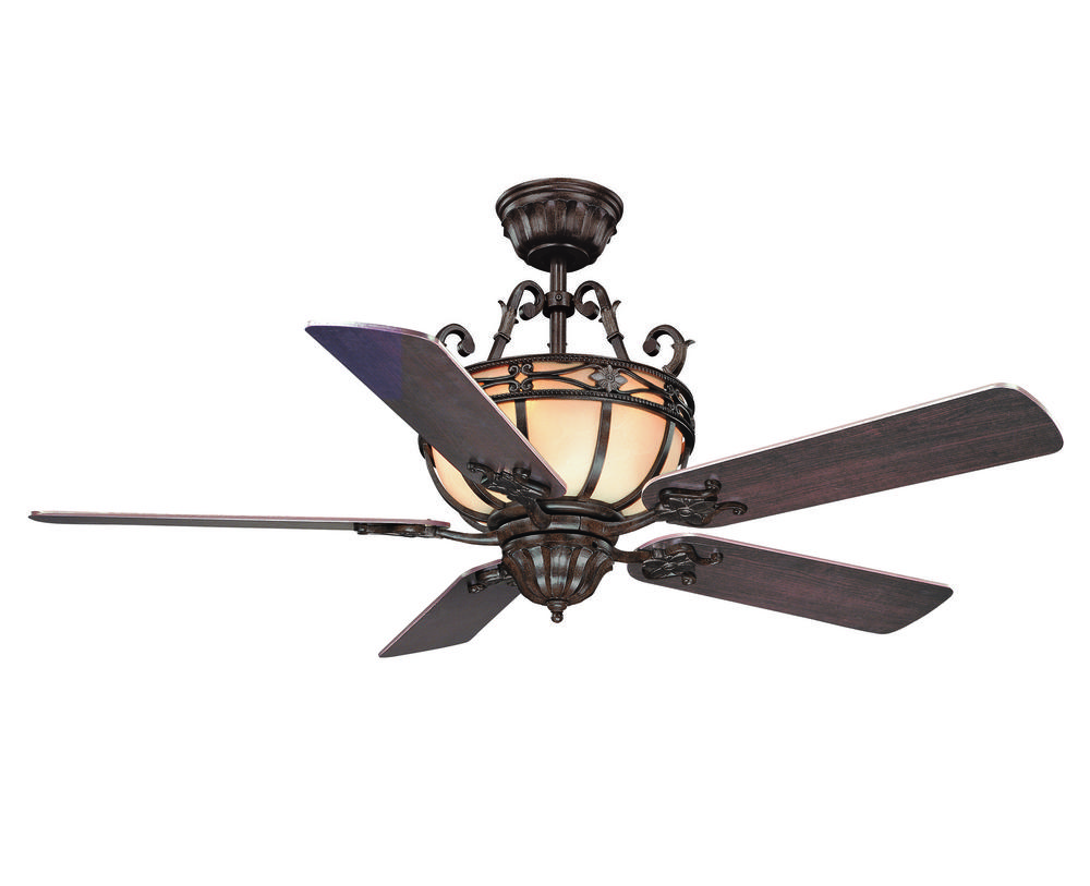 Six light moroccan bronze ceiling fan 52 740 mo 241 fan and six light moroccan bronze ceiling fan mozeypictures Images