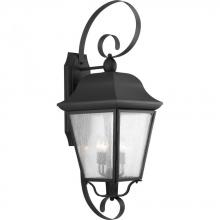 Progress P560013-031 - 3-Lt. Black Extra-Large Wall-Lantern