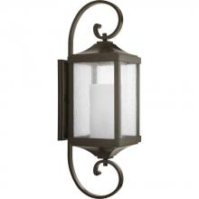 Progress P560020-020 - 1-Lt. Antique Bronze Large Wall-Lantern