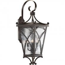 Progress P6640-108 - 4-Lt. Oil Rubbed Bronze Extra-Large Wall-Lantern
