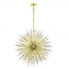 Eglo 31463A - 32x10W Pendant w/ Gold  Plated Finish & Clear Crystal Spheres