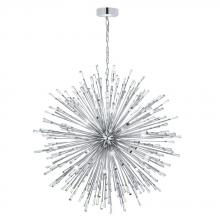 Eglo 31468A - 50x10W Pendant w/ Chrome Finish & Clear Crystal Spheres