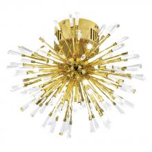 Eglo 31512A - 16x10W Ceiling Light w/ Gold Plated  Finish & Clear Crystal Spheres