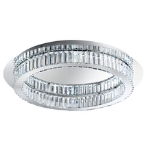 Eglo 39014A - 1x36W LED Ceiling Light w/ Chrome Finish & Crystals