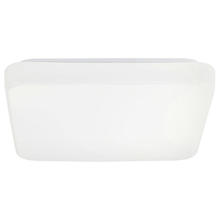 Eglo 93298A - 1x10.5W LED Square Ceiling Light w/ White Finish