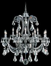 Schonbek 5335-49GS - Cadence 12 Light 110V Chandelier in Black Pearl with Golden Shadow Crystals From Swarovski Colors
