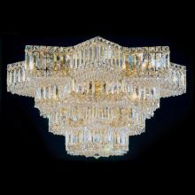 Schonbek 2734-211 - Equinoxe 29 Light 110V Close to Ceiling in Aurelia with Clear Gemcut Crystal
