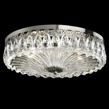 Schonbek FL7068N-211H - Fontana Luce 3 Light 110V Close to Ceiling in Aurelia with Clear Heritage Crystal