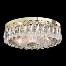 Schonbek FL7067N-22H - Fontana Luce 2 Light 110V Close to Ceiling in Heirloom Gold with Clear Heritage Crystal