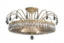 Schonbek FL7769N-26H - Fontana Luce 3 Light 110V Close to Ceiling in French Gold with Clear Heritage Crystal