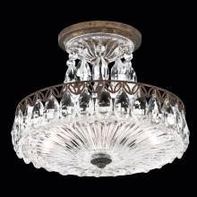 Schonbek FL7787N-48H - Fontana Luce 2 Light 110V Close to Ceiling in Antique Silver with Clear Heritage Crystal