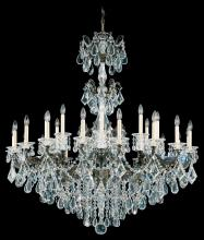 Schonbek 5014-76A - La Scala 27 Light 110V Chandelier in Heirloom Bronze with Clear Spectra Crystal