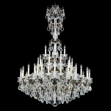 Schonbek 5016-86S - La Scala 45 Light 110V Chandelier in Midnight Gild with Clear Crystals From Swarovski