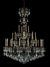 Schonbek 5688-26A - Milano 28 Light 110V Chandelier in French Gold with Clear Spectra Crystal