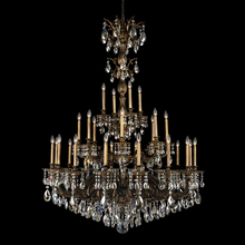 Schonbek 5688-23O - Milano 28 Light 110V Chandelier in Etruscan Gold with Clear Optic Crystal
