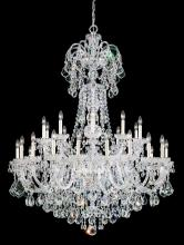 Schonbek 6816-40A - Olde World 35 Light 110V Chandelier in Silver with Clear Spectra Crystal
