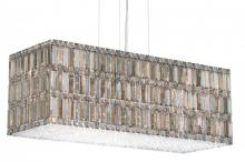Schonbek 2281A - Quantum 33 Light 110V Pendant in Stainless Steel with Clear Spectra Crystal