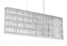 Schonbek 2297A - Quantum 25 Light 110V Pendant in Stainless Steel with Clear Spectra Crystal