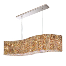 Schonbek RE4821A - Refrax 21 Light 110V Pendant in Stainless Steel with Clear Spectra Crystal