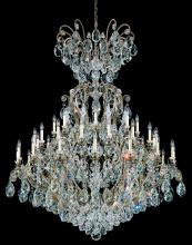 Schonbek 3775-22TK - Renaissance 41 Light 110V Chandelier in Heirloom Gold with Golden Teak Crystals From Swarovski