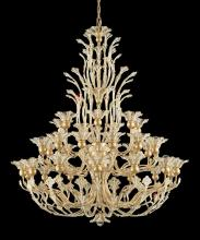 Schonbek 7868-22A - Rivendell 36 Light 110V Chandelier in Heirloom Gold with Clear Spectra Crystal