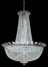 Schonbek 3720-49A - Roman Empire 28 Light 110V Chandelier in Black Pearl with Clear Spectra Crystal