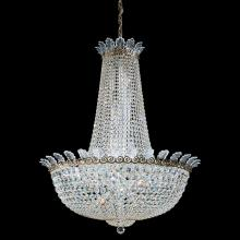 Schonbek 3720-26A - Roman Empire 28 Light 110V Chandelier in French Gold with Clear Spectra Crystal