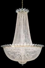 Schonbek 3724-48S - Roman Empire 58 Light 110V Chandelier in Antique Silver with Clear Crystals From Swarovski