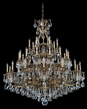 Schonbek 6967-26A - Sophia 35 Light 110V Chandelier in French Gold with Clear Spectra Crystal