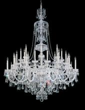Schonbek 3612-40H - Sterling 45 Light 110V Chandelier in Silver with Clear Heritage Crystal