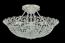 Schonbek 9845-22 - Tiara 17 Light 110V Close to Ceiling in Heirloom Gold with Clear Spectra Crystal