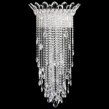 Schonbek TR1233N-401A - Trilliane Strands 4 Light 110V Wall Sconce in Stainless Steel with Clear Spectra Crystal