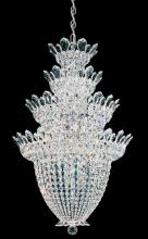 Schonbek 5848A - Trilliane 24 Light 110V Chandelier in Silver with Clear Spectra Crystal