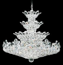 Schonbek 5856A - Trilliane 30 Light 110V Chandelier in Silver with Clear Spectra Crystal