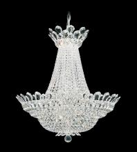 Schonbek 5872A - Trilliane 40 Light 110V Chandelier in Silver with Clear Spectra Crystal