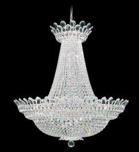 Schonbek 5874A - Trilliane 63 Light 110V Chandelier in Silver with Clear Spectra Crystal