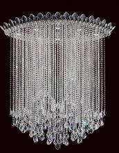 Schonbek TR4803N-401H - Trilliane Strands 8 Light 110V Close to Ceiling in Stainless Steel with Clear Heritage Crystal