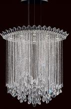 Schonbek TR4813N-401H - Trilliane Strands 8 Light 110V Pendant in Stainless Steel with Clear Heritage Crystal
