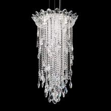 Schonbek TR1802N-401H - Trilliane Strands 5 Light 110V Close to Ceiling in Stainless Steel with Clear Heritage Crystal