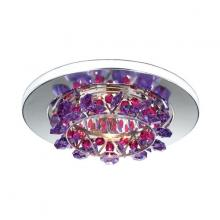 Schonbek VCR431A - Vertex 1 Light 12V Recessed in Stainless Steel with Clear Spectra Crystal