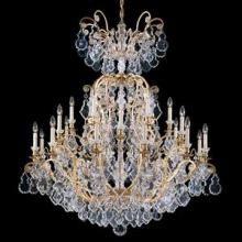Schonbek 2775-22 - Versailles 41 Light 110V Chandelier in Heirloom Gold with Clear Heritage Crystal