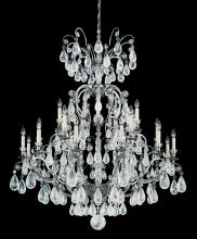 Schonbek 2474-22 - Versailles Rock Crystal 25 Light 110V Chandelier in Heirloom Gold with Clear Rock Crystal