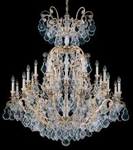 Schonbek 2774-22 - Versailles 25 Light 110V Chandelier in Heirloom Gold with Clear Heritage Crystal