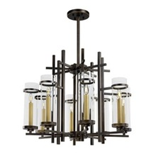 Maxim 43748CLGB - Midtown LED-Single-Tier Chandelier