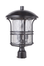 Craftmade Z5125-92 - 3 Light Oiled Bronze Post Mount