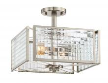 Designers Fountain 88811-SP - Pivot 2 Light Semi-Flush