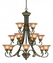 Dolan Designs 829-38 - 15Lt 3 Tier Chandelier