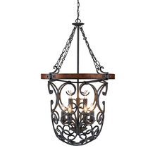 Golden 1821-9P BI - 2 Tier - 9 Light Pendant